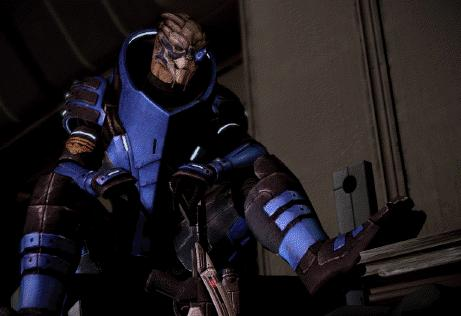 Need a blocking position set up? Garrus Vakarian is your man.