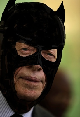 Is Jimmy Carter Batman? No, but they are both de facto ambassadors.