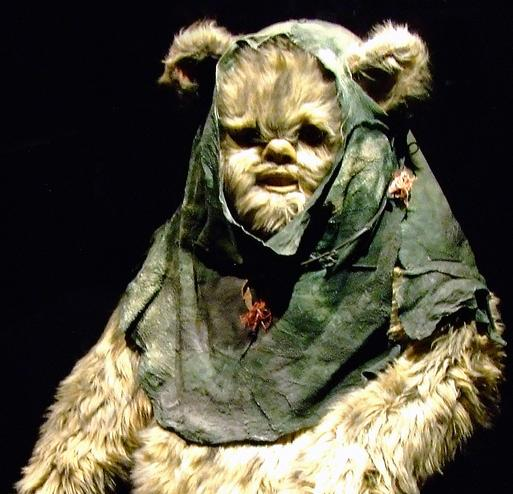 An ewok, with thousand-mile stare.