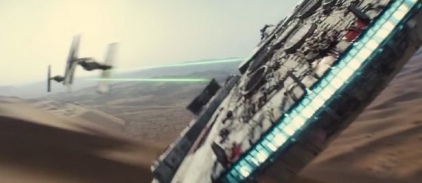 Screenshot, Star Wars: Episode VII - The Force Awakens Official Teaser Trailer #1