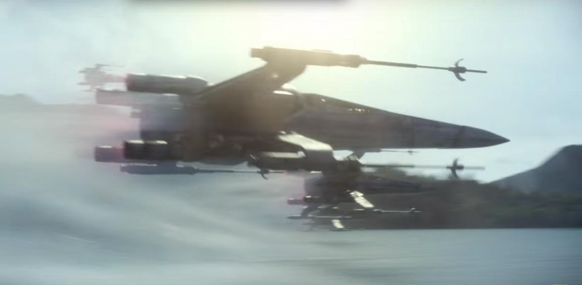 T 70 Model X Wings In Formation