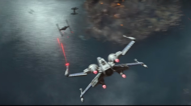 T-70 X-Wing Versus Tie Fighter
